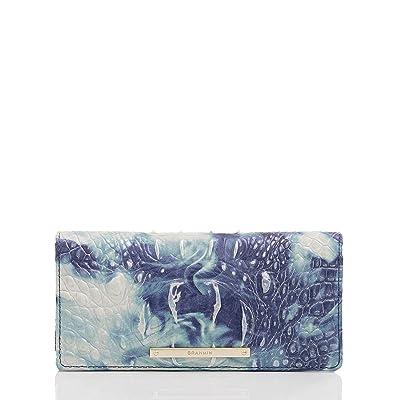 Brahmin Melbourne Ady Wallet (Chambray) Wallet Handbags