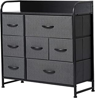 Dresser for Bedroom with 7 Drawers,Fabric Dressers &...