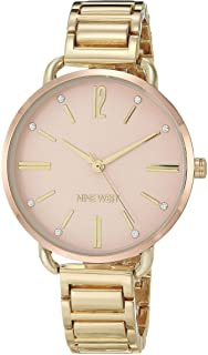 Women's Crystal Accented Gold-Tone Bracelet Watch, NW/2458RGGP