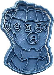 Cuticuter Marvel Thanos Infinity Gauntlet Cookie Cutter, blue