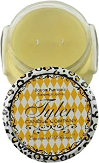 Tyler Candles - Pineapple Crush Scented Candle - 11 Ounce 2 Wick Candle,Neutral