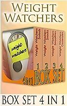 Weight Watchers Box Set 4 in 1: 25 Weight Watchers Salads + 23 Weight Watchers Snacks+ 77 Weight Watchers Smoothies + 21 W...