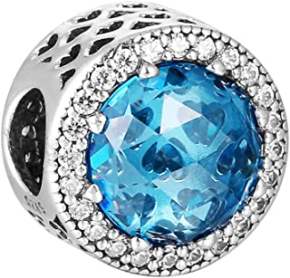 Pandora Women's Silver Radiant Hearts Spacer Charm - 791725NBS
