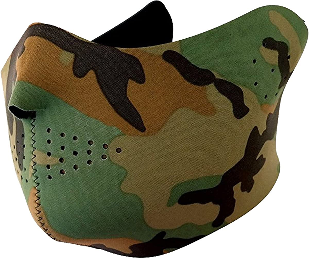 Safety Reflective Balaclava Mask with Adjustable Zipper Hat Skull Cap