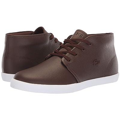 Lacoste Asparta 318 1 P (Brown/White) Men