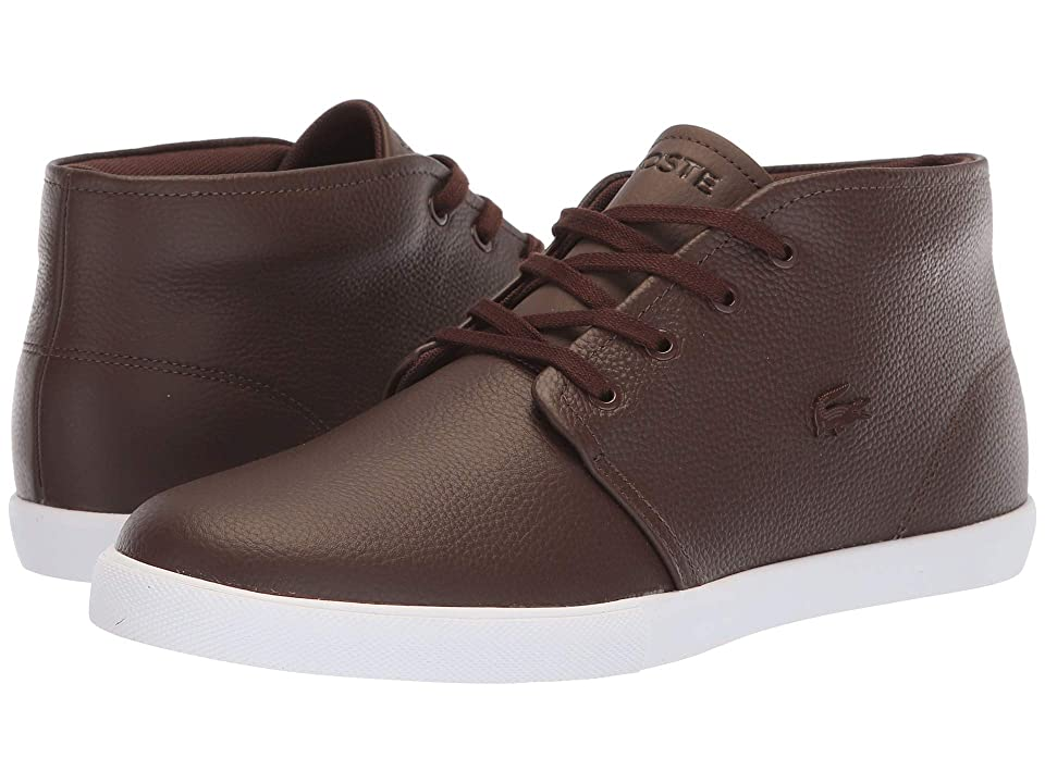 Lacoste Asparta 318 1 P (Brown/White) Men