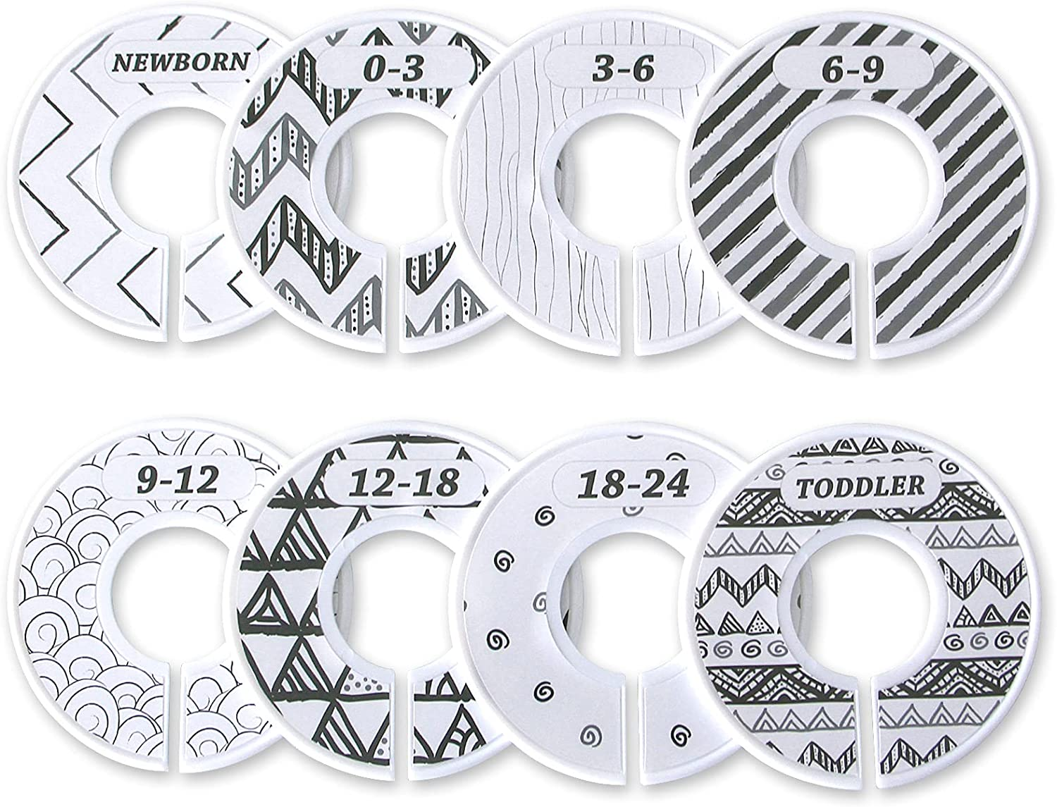 Baby safety Closet Dividers Max 46% OFF Size Round Nursery Clo