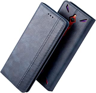 iHOY ZTE Nubia Red Magic 3ケース 手帳型 おしゃれ 革 カード入れ スタンド機能 柔軟 ZTE Nubia Red Magic 3ケース レザー 衝撃吸収 薄型 新型