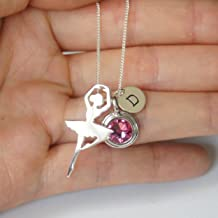swarovski ballerina necklace