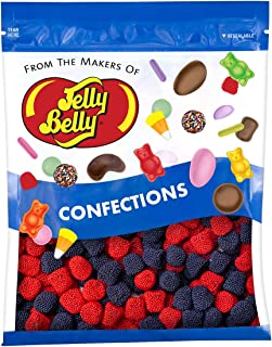 Jelly Belly Strawberries and Blueberries Candy - 1 Pound (16 Ounces) Resealable Bag - Genuine, Official, Straight from the...