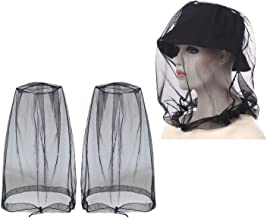 2pcs Mosquito Head Net Insect Repellent Netting Bee Mask Face Cover for Travel Backyard Camping Outdoors Lover, Stay Away from Insect Bug Gnats Diseases