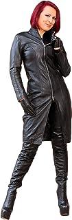 Abrigo de Piel Vestido Abrigo Blazer Chaqueta de Piel auténtica Piel de napa en Negro (FD de 1036) » » » gesonderte Tabla ...