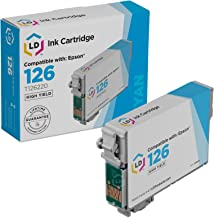 LD Remanufactured Ink Cartridge Replacement for Epson 126 T126220 High Yield (Cyan)