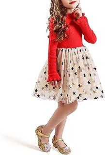 TTYAOVO Vestido sin Mangas de Princesa sin Mangas SummerTutu para niñas de Tulli