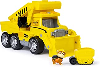Paw Patrol Ultimate Rescue Construction Truck with Lights, Sound and Mini Vehicle, for Ages 3 and Up