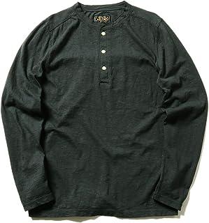 [ビームスプラス] ヘンリーネック ロングスリーブ Tシャツ メンズ