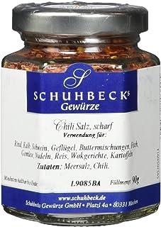 Schuhbecks Chili Salz scharf, 3er Pack 3 x 90 g