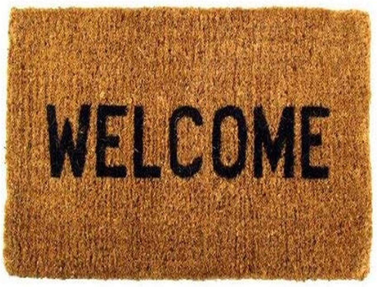 Welcome Coco Coir Doormat Denver Mall Ranking TOP13