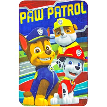 Plaid Pat Patrouille kidparadise Plaid Polaire Pat Patrouille 100 x140
