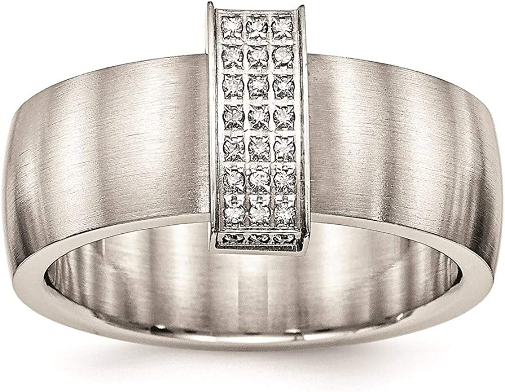 Ryan Jonathan Fine Jewelry Stainless and Polished Brushed New product Steel At the price