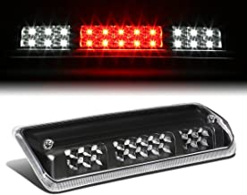 For Ford F150 11th Gen/Lincoln Mark LT High Mount Dual Row LED 3rd Tail Brake/Cargo Light (Black Housing Clear Lens)