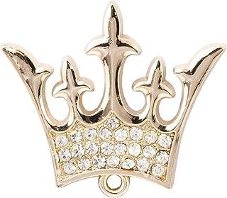 Knighthood Men's Royal King Crown Badge Suit Collar Brooch