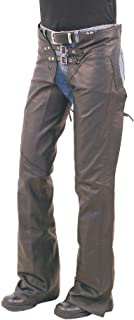 Jamin' Leather Ladies Sexy Lace Up Western Chaps (L) #CL745LK