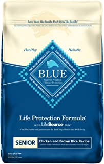 Blue Buffalo Life Protection Formula Senior Dog Food – Natural Dry Dog Food for Senior..