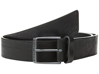 Birkenstock Ohio 40MM Leather Belt (Black Leather) Men