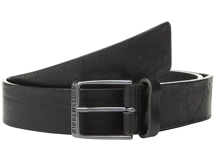 Birkenstock Ohio 40MM Leather Belt (Black Leather) Men