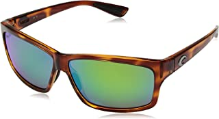 Men's Cut Rectangular Sunglasses