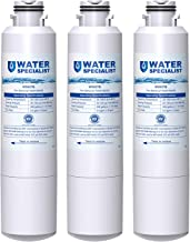 Waterspecialist DA29-00020B Refrigerator Water Filter, Replacement for Samsung DA29-00020A/B, HAF-CIN/EXP, DA29-00020B-1, RF25HMEDBSR, RF28HMEDBSR, RS25J500DSR&More Models, 3 Carbon Filters
