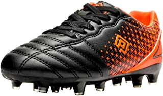 DREAM PAIRS Boys Girls Outdoor Football Shoes Soccer Cleats