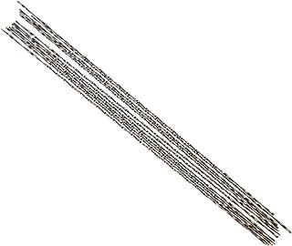 Figuurzaagmachine, 12-delige figuurzaagbladen met spiraalvormige tanden Fijn gesneden figuurzaagbladen met penuiteinde voo...