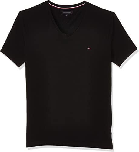 Tommy Hilfiger Core Stretch Slim Vneck Tee T-Shirt Homme