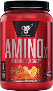 BSN Amino X Muscle Recovery & Endurance Powder with BCAAs, 10 Grams of Amino Acids, Keto Friendly, Caffeine Free, Flavor: ...