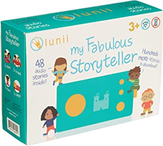 lunii - My Fabulous Storyteller - Children Craft Their own Audio Stories - Screen-Free Educational Toy