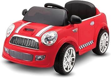 Macchina Elettrica Rossa Lt848 Per Bambini 6v Monoposto Amazon It Giochi E Giocattoli