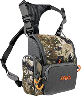 SPIKA Hunting Camouflage Front Pack with Rain Cover...