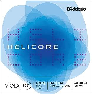 D'Addario Helicore Viola String Set, Long Scale, Medium Tension