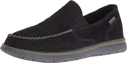 Merrell Hommes's Laze MOC Fashion paniers, noir, 7.5 M US