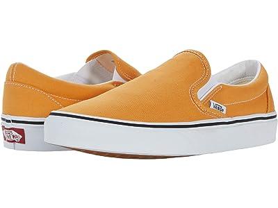 Vans Classic Slip-On (Golden Nugget/True White) Skate Shoes
