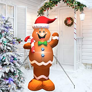Best christmas airblown 4' gingerbread man inflatable Reviews