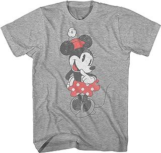 0fb8450f8 Disney Shy Minnie Mouse Graphic Tee Classic Vintage Disneyland World Mens  Adult T-Shirt Apparel