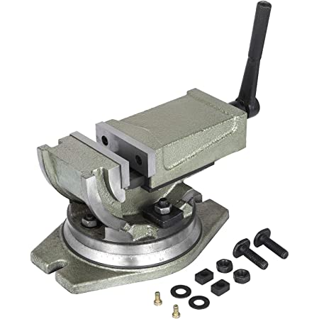 "-3 Way Precision Milling Machine Vise 2/"" 50 mm Swivel,Tilt,Angle Vice"