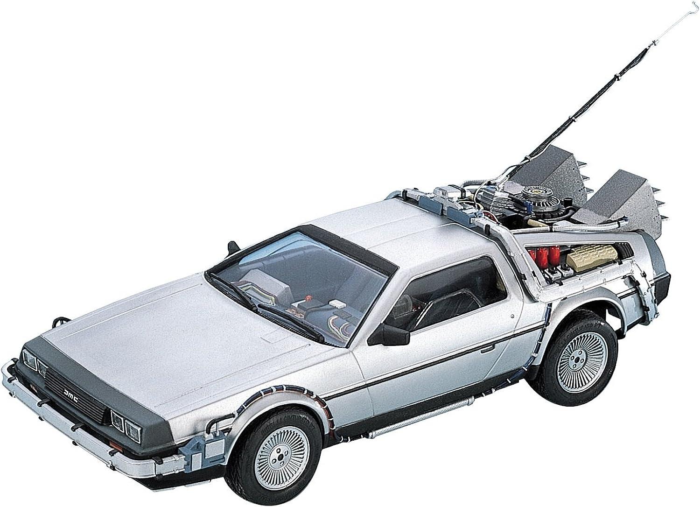 DeLorean DMC 12 Back to the Future in 1 24 Model Kit Bausatz Aoshima 011850 B00MWJIP7M Abrechnungspreis  | Trendy