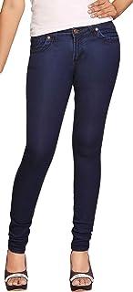 ADBUCKS Dxblue Stretchable Cotton Lycra Womens Jeans