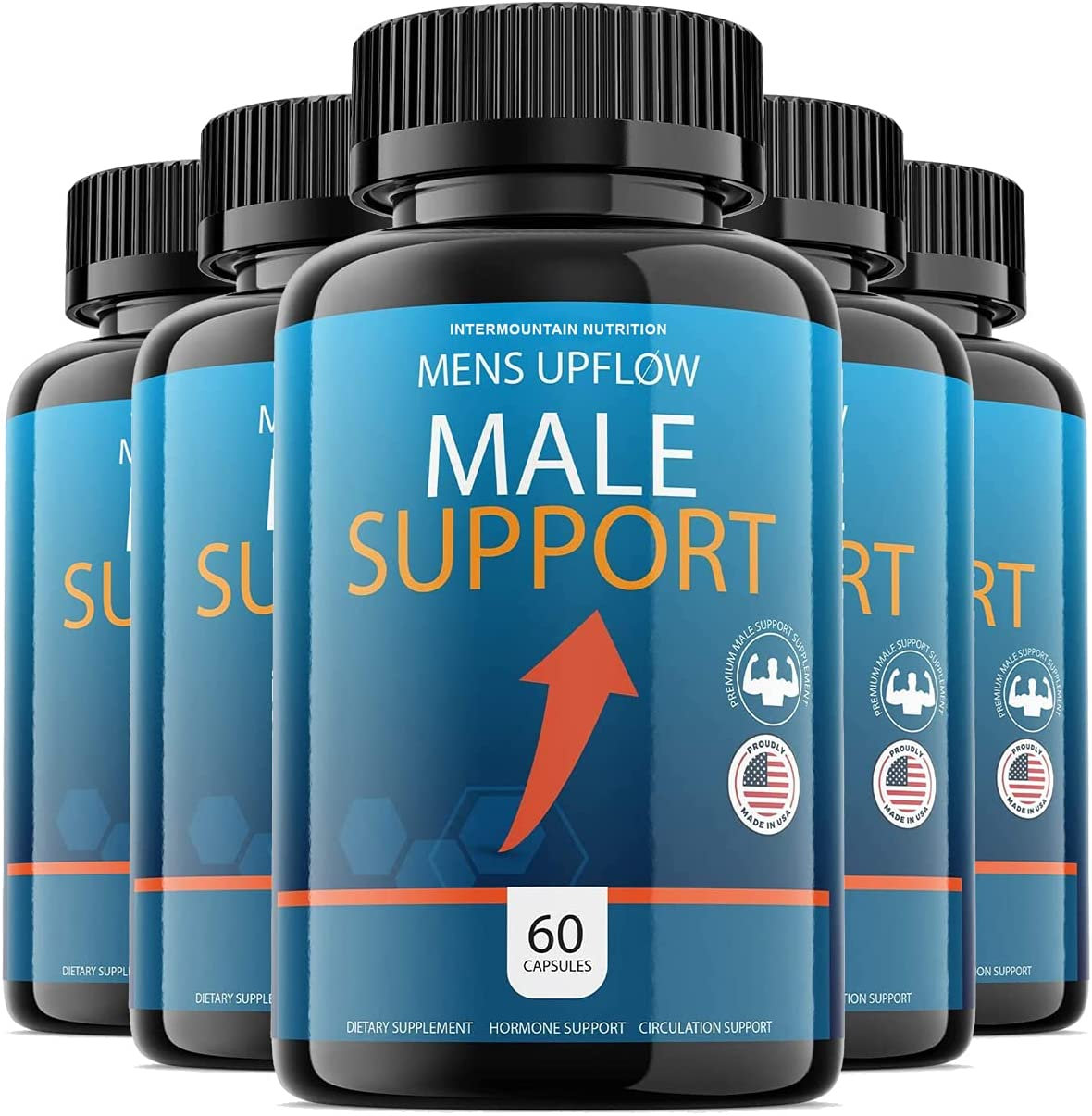 5-Pack Mens Sales of SALE items from new works Selling rankings Upflow Pill Advanced Performance For