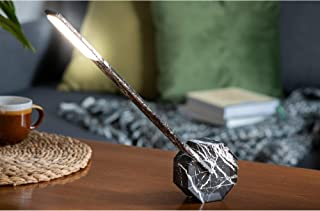 Sponsored Ad - Gingko Octagon One Rechargeable Modern LED Desk Lamp Touch Sensitive Black Marble