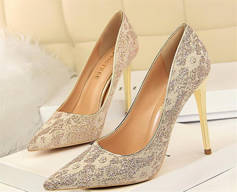 High Heels Sandals Womens High Heel Classic Blink Stiletto Heel shoes Multicolor Girl Women Ladies Birthday Party Wedding Gift,Silver,EU40